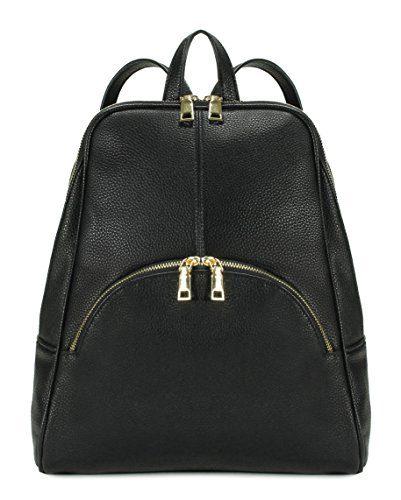 Scarleton Chic Casual Backpack - Black