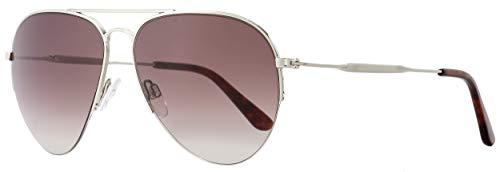 Sunglasses Balenciaga shiny palladium / gradient bordeaux