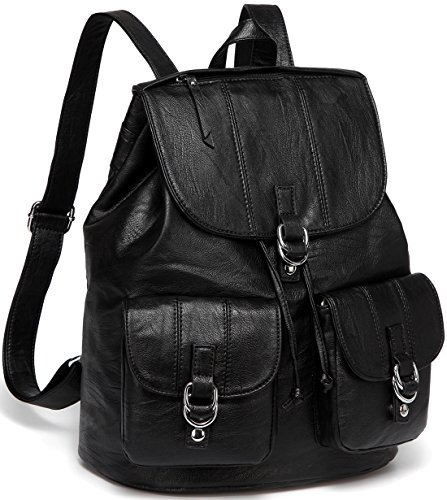 Backpack Purse for Women,VASCHY Fashion Faux Leather