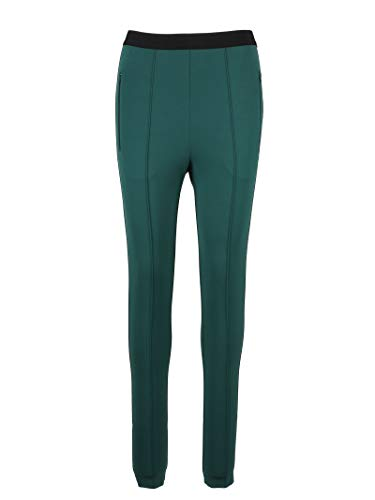 Balenciaga Women's Green Viscose Leggings