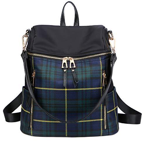 LEADO Fashion Backpack Purse for Women Girls, Nylon Lady Travel Backpack