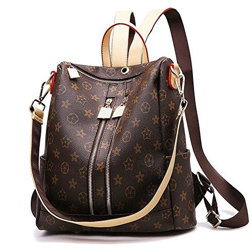 Olyphy Designer Leather Backpack Purse for Women