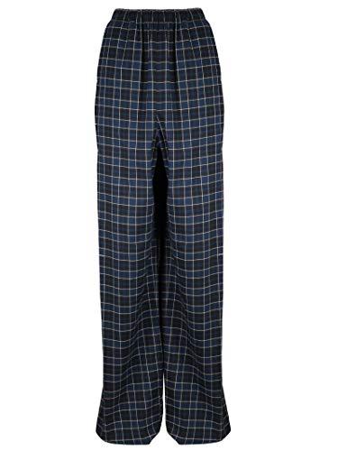 Balenciaga Women's Blue Cotton Pants