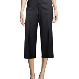 Balenciaga Womens Wide Leg Wool Trouser, 38