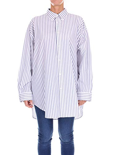 Balenciaga Women's White Cotton Shirt
