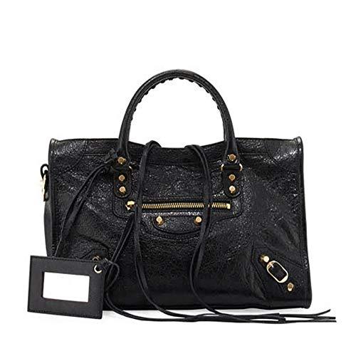 Balenciaga Giant 12 Gold City Bag, Black