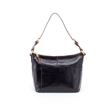 Hobo Women's Charlie Vintage Leather Shoulder Bag (Black)