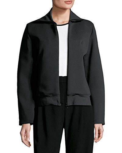 Balenciaga Womens Ribbed Mockneck Jacket, 40F