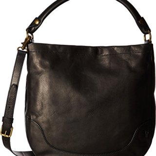 FRYE Melissa Hobo Smooth Full Grain, Black