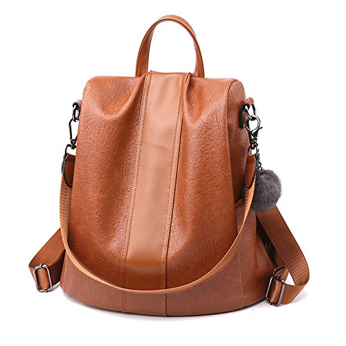 Herald Fashion Women Anti-theft Backpack Waterproof Rucksack Shoulder
