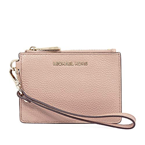Michael Kors Small Pebbled Leather Coin Purse - Fawn