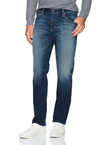 AG Adriano Goldschmied Men's Graduate Tailored Leg 360 Denim Pant, 10 Years Shortcut, 32