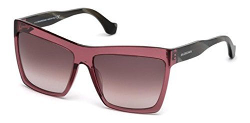 Sunglasses Balenciaga shiny bordeaux / gradient bordeaux