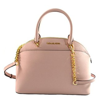 Michael Kors Emmy Large Dome Saffiano Leather Satchel