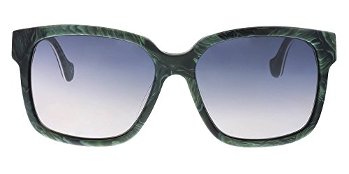 Sunglasses Balenciaga green horn / gradient smoke