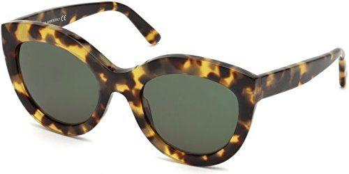 Sunglasses Balenciaga BA 0133 55N coloured havana/green