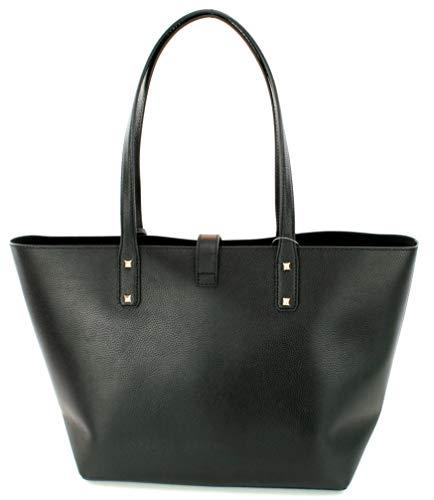 e7a0230109a068 Home Shop Women Accessories Handbags & Wallets Michael Kors Karson LG Carryall  Tote Leather Black