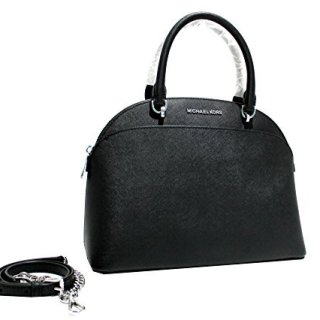 Michael Kors Emmy Ladies Large Leather Dome Satchel Handbag