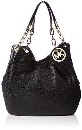 Michael Kors Women's Fulton Large Leather Shoulder Bag
