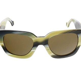 Sunglasses Balenciaga coloured horn / roviex