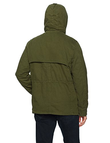 Ben Sherman Men's Cotton Field Jacket, Olive, L