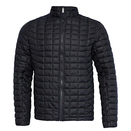 Ben Sherman Mens Quilted Jacket (M, Black)