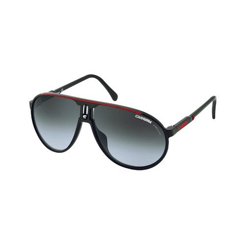 Carrera Champion CDU Black / Red Champion Pilot Sunglasses Lens
