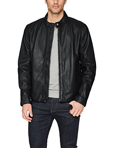 Marc New York by Andrew Marc Men's Horace, Black, Large