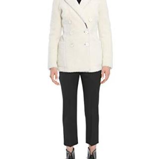 Alexander McQueen Women's White Wool Coat