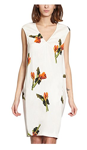 Cacharel Amarillys Coco Dress White Women Spring/Summer Collection