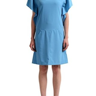 Cacharel Women's Blue Mini Shift Dress