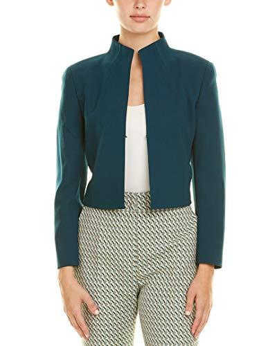 Akris Womens Wool-Blend Jacket, 6, Blue