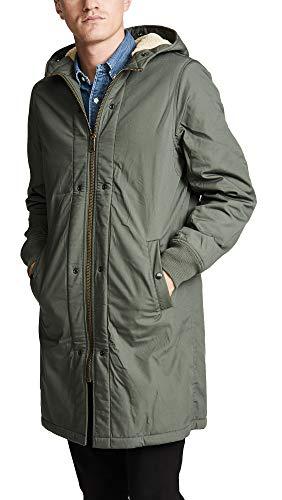 Alpha Industries Men's Pile Liner Jacket, Olive, X-Large