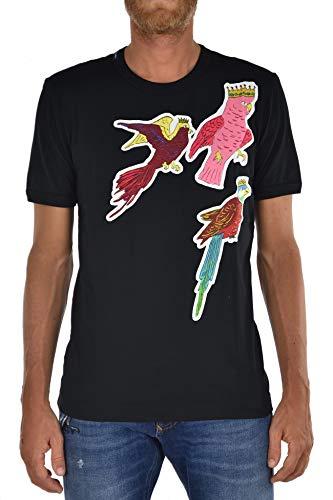 Dolce&Gabbana T-Shirt Birds - Size 46 Black