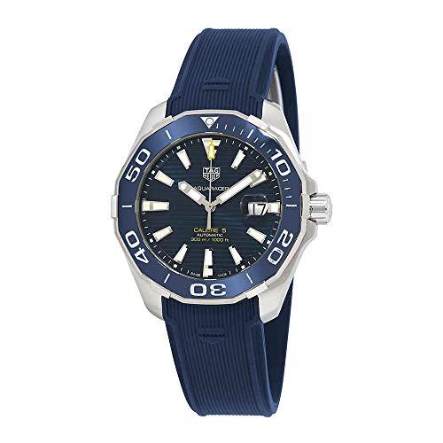 Tag Heuer Aquaracer Calibre 5 Automatic Blue Dial Mens Watch