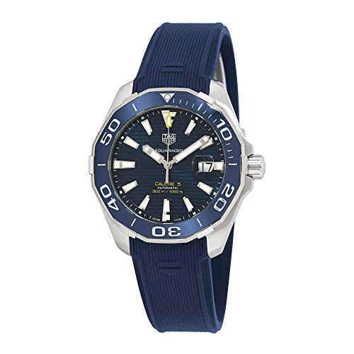 Tag Heuer Aquaracer Calibre 5 Automatic Blue Dial Mens Watch