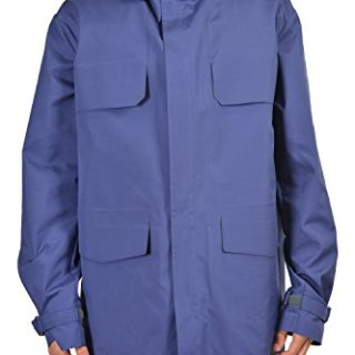 Gucci Men's Blue Full Zip Hooded Casual Jacket