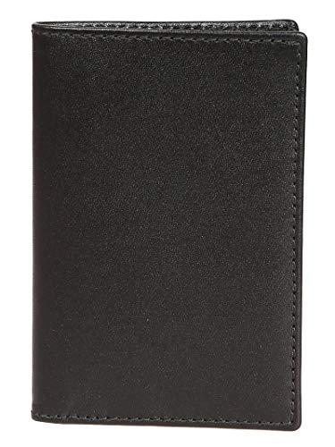 Comme Des Garçons Women's Black Leather Wallet