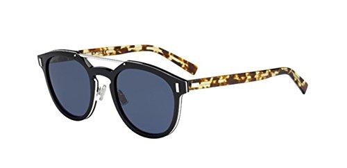 New Christian Dior Homme Black Tie 2.0S M black Blonde Havana Sunglasses