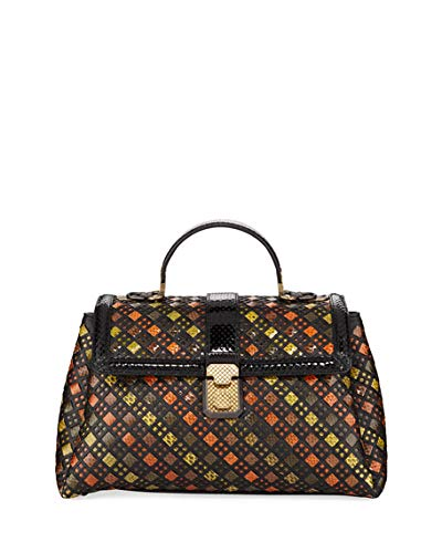 Bottega Veneta Small Intrecciato Impero Satin
