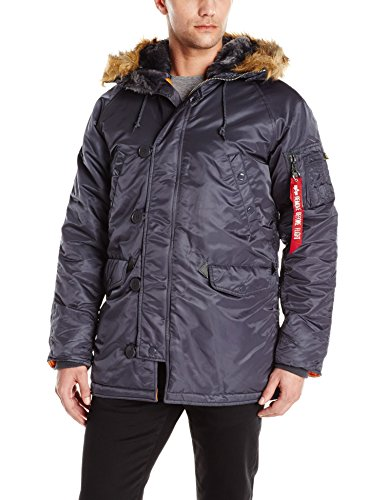 Alpha Industries Men's Slim-Fit Parka Jacket