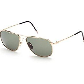 THOM BROWNE Gold w/ G15-AR Sunglasses