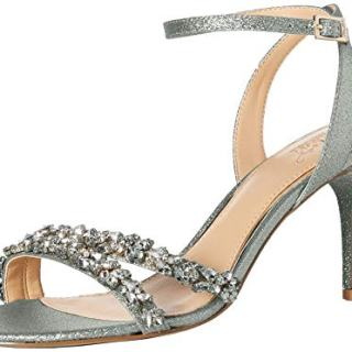 Jewel Badgley Mischka Women's Jarrell Heeled Sandal