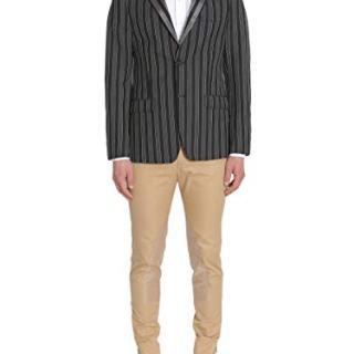 Alexander McQueen Men's Multicolor Wool Blazer