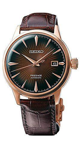 Seiko Mens PRESAGE Automatic Watch w/ Date