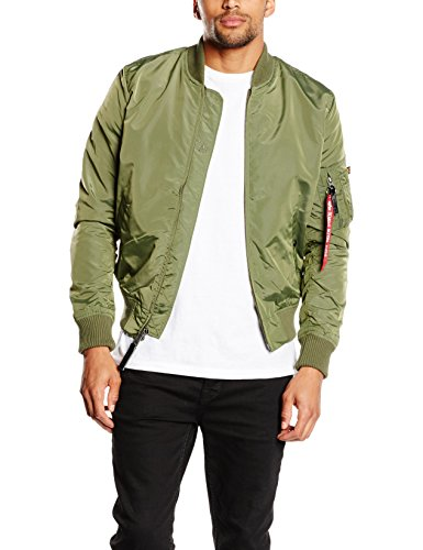 Alpha Industries Bomber Jacket Green - Green - S