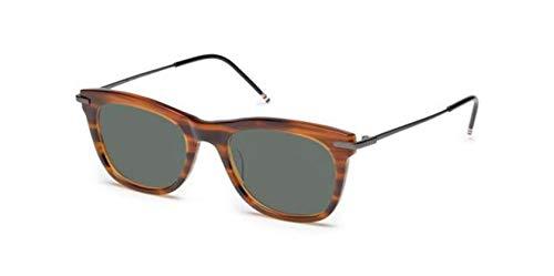THOM BROWNE Sunglasses Walnut - Black Iron 52mm