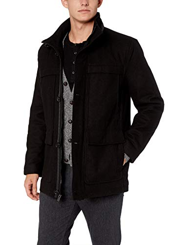Marc New York by Andrew Marc Men's Brantley, Black, Medium