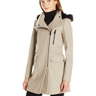 Marc New York by Andrew Marc Women's Carissa Wool 3/4 Length Coat