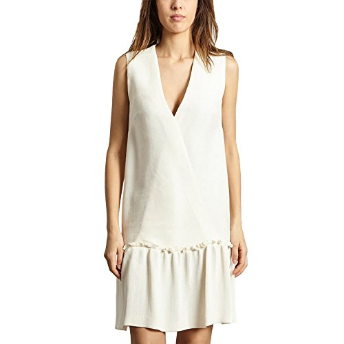 Cacharel Sleeveless Dress White Women Spring/Summer Collection